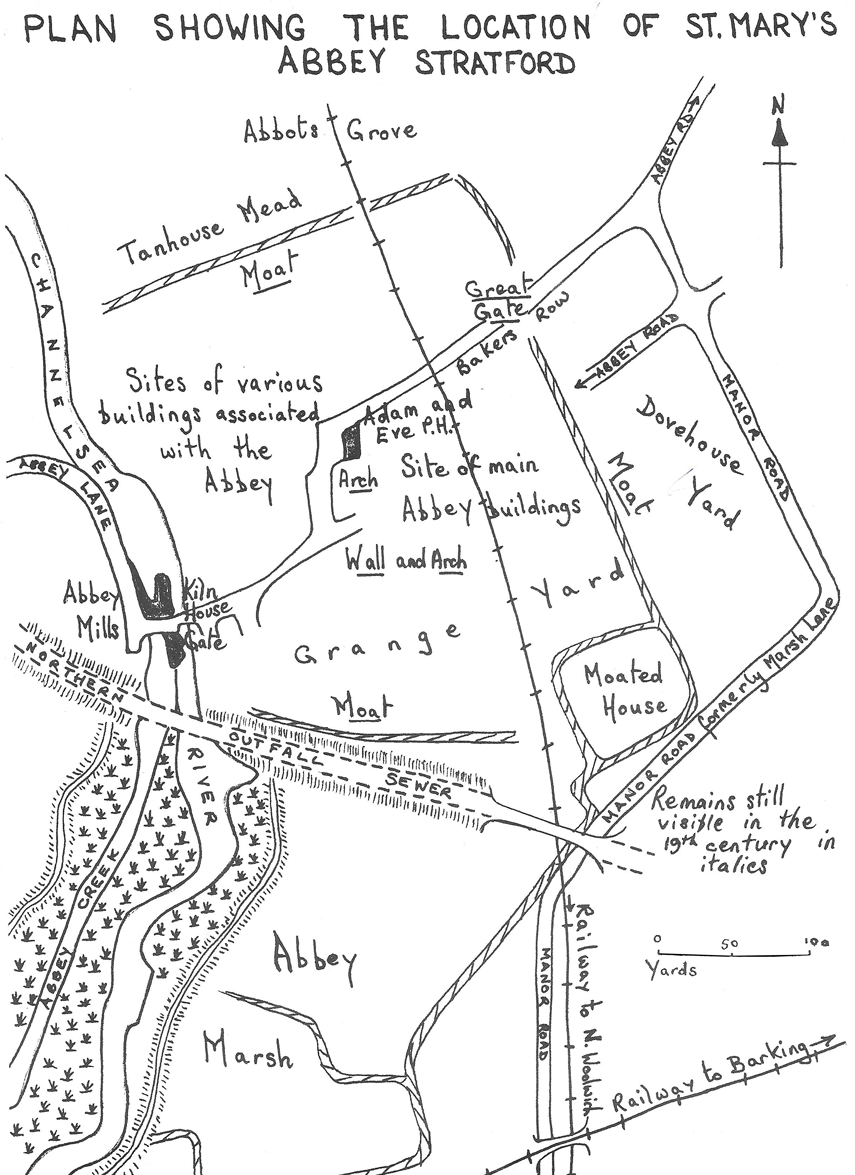 St Marys-Abbey-Plan